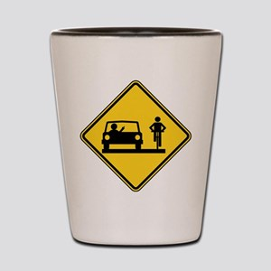 Road Rage Shot Glass
